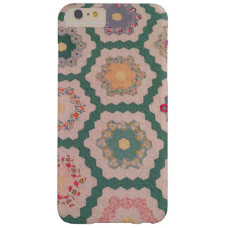 Antique Heirloom Quilt Barely There iPhone 6 Plus Case