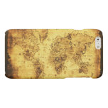 Antique Historic Old World Map Matte iPhone 6 Case