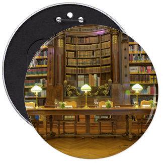 Antique Historical Library Button
