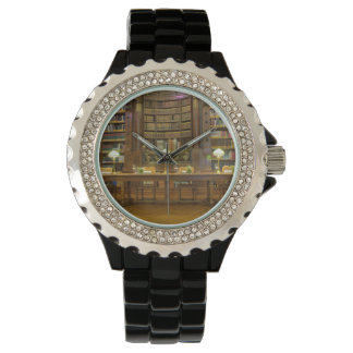 Antique Historical Library Wristwatch