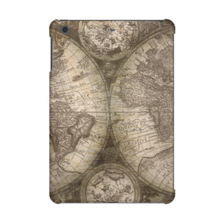 Antique Historical Old World Atlas Map Continents iPad Mini Cover