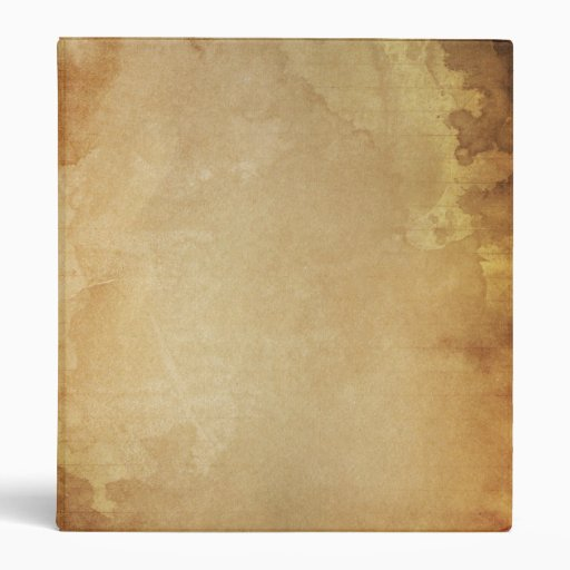 antique historical paper parchment custom binder