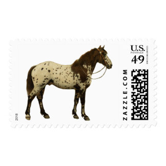 Antique Horses - Appaloosa Postage