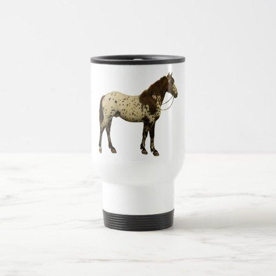 Antique Horses - Appaloosa Travel Mug