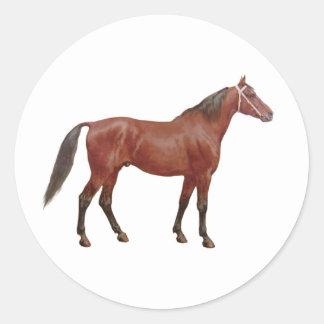 Antique Horses - Thoroughbred Sticker