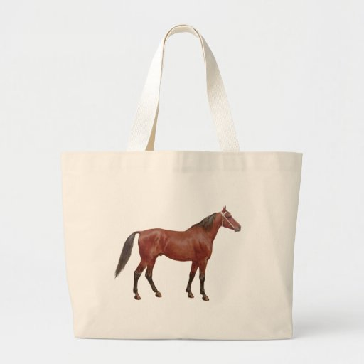 Antique Horses - Thoroughbred Tote Bag