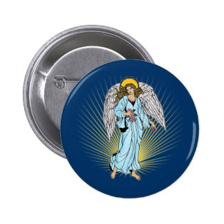 Antique Illustration of an Angel on Tshirts, Gifts 2 Inch Round Button