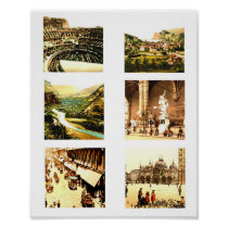 Antique Images Of Italy Collage