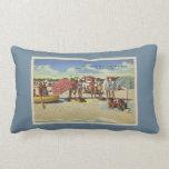 Antique Inspired Saint Petersburg Florida Beach Pillow
