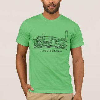 """Antique """"Iron Horse"""" Train Print 3 T-Shirt"""