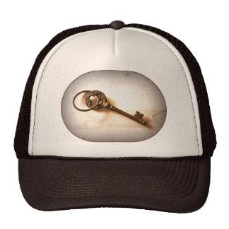 Antique Iron Key Photo Image Design Trucker Hat