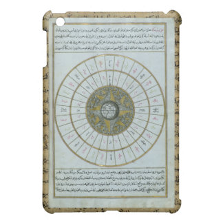 Antique Islamic Calendar iPad Mini Covers
