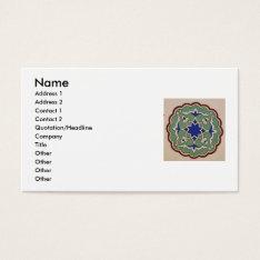 Antique Islamic Tile Design  Business Cards at Zazzle