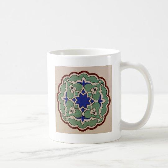 Antique Islamic Tile Design Coffee Mug