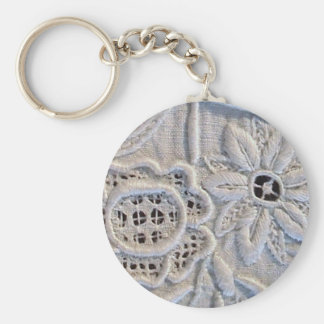Antique Italian Embroidery Key Chains
