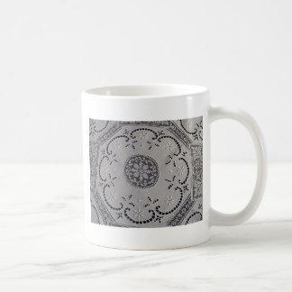 Antique Italian Mixed Lace Coffee Mug