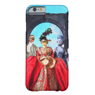 ANTIQUE ITALIAN PUPPETS AND MASKS MASQUERADE PARTY BARELY THERE iPhone 6 CASE