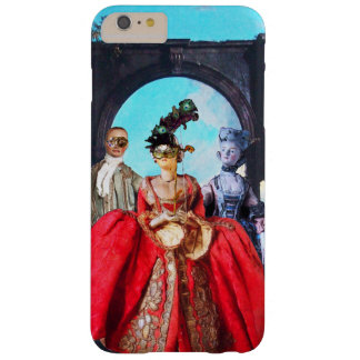 ANTIQUE ITALIAN PUPPETS AND MASKS MASQUERADE PARTY BARELY THERE iPhone 6 PLUS CASE
