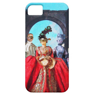 ANTIQUE ITALIAN PUPPETS AND MASKS MASQUERADE PARTY iPhone SE/5/5s CASE