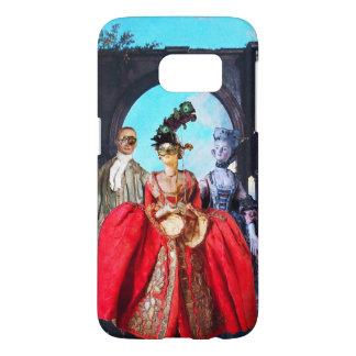 ANTIQUE ITALIAN PUPPETS AND MASKS MASQUERADE PARTY SAMSUNG GALAXY S7 CASE