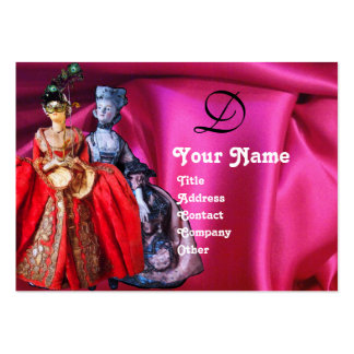 ANTIQUE ITALIAN PUPPETS MASQUERADE MASKS,COSTUMES BUSINESS CARDS