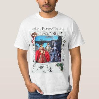 ANTIQUE ITALIAN PUPPETS MASQUERADE MASKS COSTUMES T-Shirt