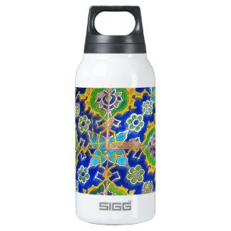 Antique Iznik Glaze Tiles  Ottoman Era Insulated Water Bottle