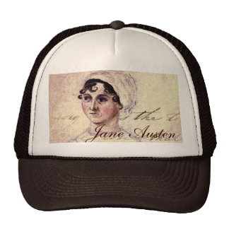 Antique Jane Austen Portrait Trucker Hat