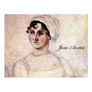 Antique Jane Austen Portrait Postcard