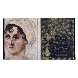 Antique Jane Austen Pride and Prejudice Peacock iPad Folio Cases