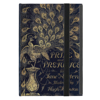 Antique Jane Austen Pride and Prejudice Peacock Cover For iPad Mini