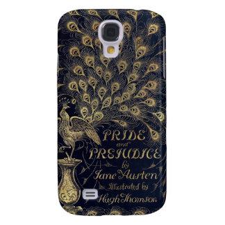 Antique Jane Austen Pride and Prejudice Peacock Galaxy S4 Cover