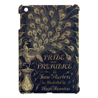 Antique Jane Austen Pride and Prejudice Peacock iPad Mini Cover