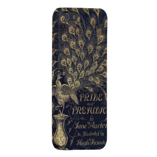 Antique Jane Austen Pride and Prejudice Peacock Cover For iPhone 5/5S