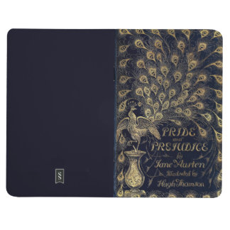 Antique Jane Austen Pride and Prejudice Peacock Journal