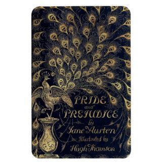 Antique Jane Austen Pride and Prejudice Peacock Rectangular Photo Magnet