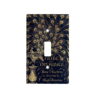 Antique Jane Austen Pride and Prejudice Peacock Switch Plate Cover