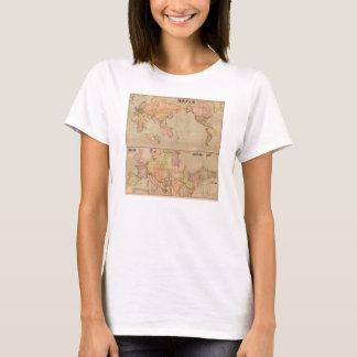 Antique Japanese World Map 1914 T-Shirt