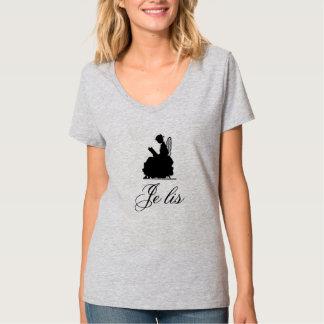 Antique Je Lis (I read) T-Shirt