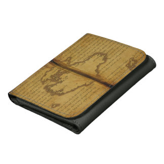 Antique Journal Page Wallet