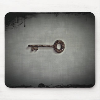 Antique key photo mouse pad