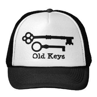 Antique keys cute mesh hats