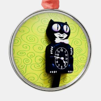 Antique kit Cat Clock Ornament