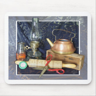 Antique Kitchen Items Still Life Mouse Pad
