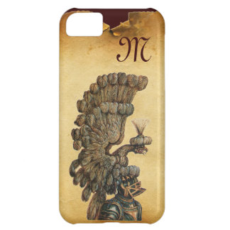 ANTIQUE KNIGHT HELMET WITH EAGLE Parchment iPhone 5C Cover