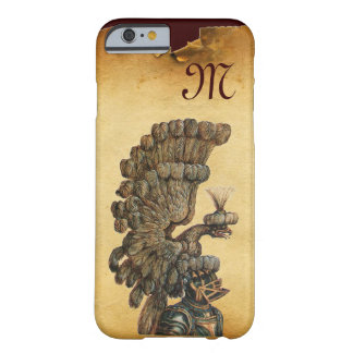 ANTIQUE KNIGHT HELMET WITH EAGLE Parchment Barely There iPhone 6 Case