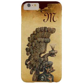 ANTIQUE KNIGHT HELMET WITH EAGLE Parchment Barely There iPhone 6 Plus Case