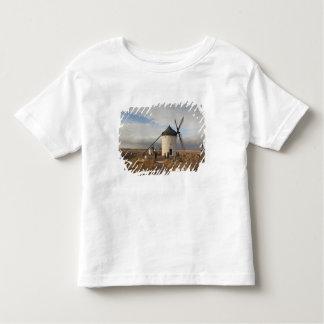 Antique La Mancha windmills, with visitors T Shirt
