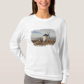 Antique La Mancha windmills, with visitors T-Shirt