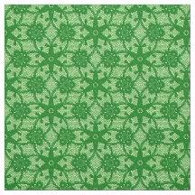 Emerald Green Lace Fabric